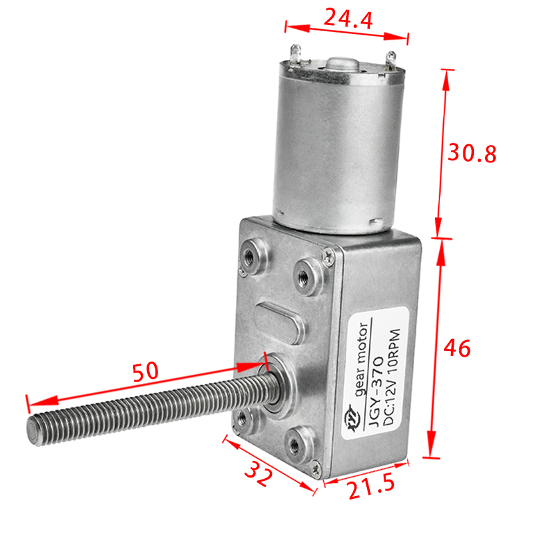 Power Electric Speed High Torque 24v Dc Motor