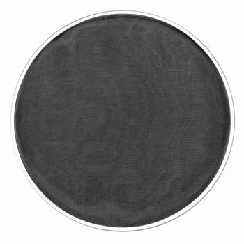 BMDT-10 pulgadas tambor cabeza Piel de tambor negro Nylon Mute Mash Pad Dampener para Bass Drum Set Kit de piezas de percusión Accesorios