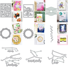 Different Constellation Nesting Frame Metal Cutting Dies Stencil For DIY Scrapbooking Crafts Album Embossing Template 2020 New
