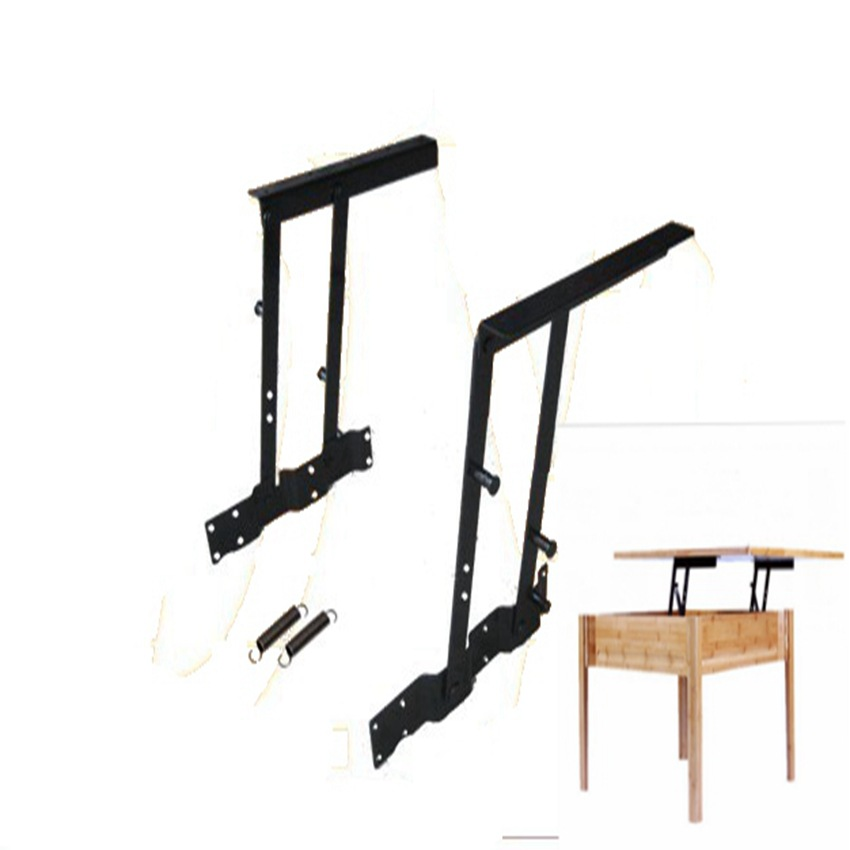 Jzh Gold Zhanhui Teapoy Table Lifting Frame Solid Wood Tea Table Accessories Creative Home A02
