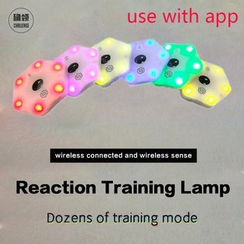 【queling】reaction training light lamp speed agility response equipment boxing react Sensory  agile fitlight blazepod siboasi 1