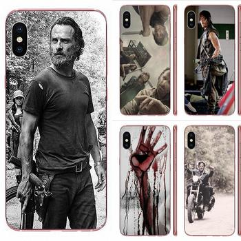 Darly Dixon The Walking Dead Zombies For Huawei Honor Mate 7 7A 8 9 10 20 V8 V9 V10 V30 P40 G Lite Play Mini Pro P Smart image