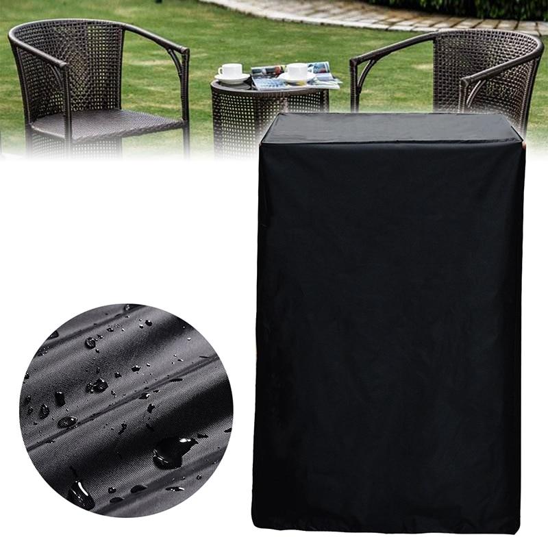 Ev ve Bahçe'ten Her Amaca Uygun Kapaklar'de Açık bahçe veranda tüm amaçlı su geçirmez istifleme Rattan sandalyeler kanepe mobilya kapak toz geçirmez kapakları title=