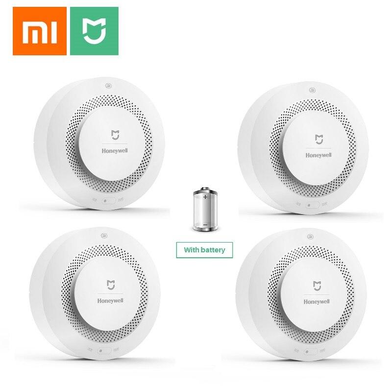 Xiaomi Fire-Alarm-Detector Remote-Control Aqara Smoke-Sensor Photoelectric Honeywell