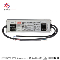 RW120TC 200W IP67 Dimming Constant current source for UV LED module gel curing lamps INPUT AC 160V 265V OUTPUT DC 24V 8400mA