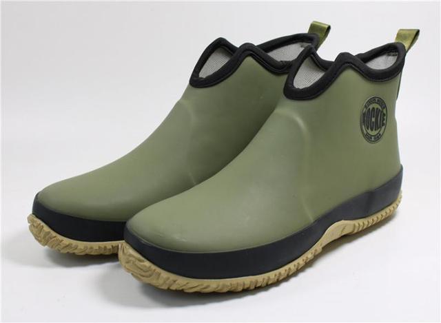 Swonco Men Rubber Shoes Waterproof Rain Boots 2020 Autumn New Male Short Ankle Boots Waterproof Rianboots Shoes 5