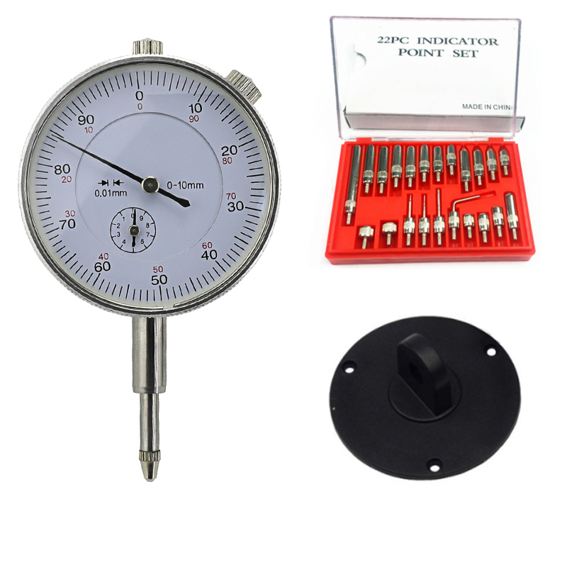 Conical Point Contact Points for Dial Indicator Depth Gauge Diameter 5mm M2.5