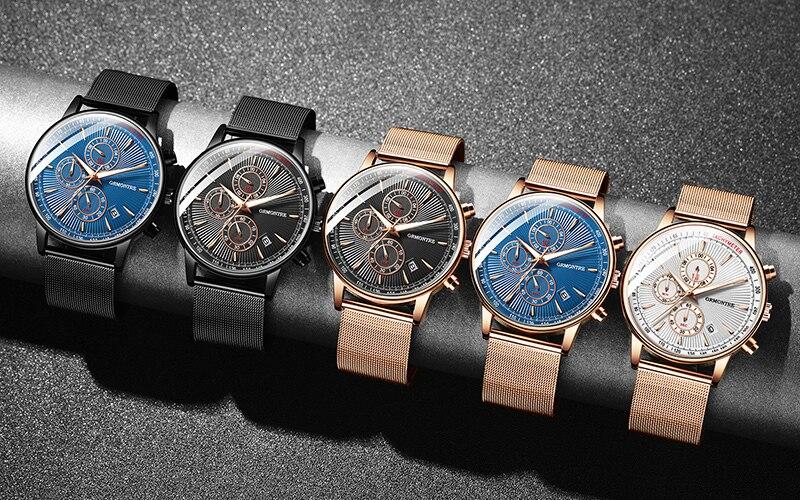 Hf6bb65b11fe0406597d1093352c16860T Watch Chronograph Army Military Quartz Watches GRMONTRE