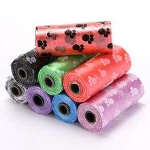 Carrier-Holder-Dispenser Poop-Bags Pet-Supplies Biodegradable Clean-Pick-Up-Tools Dog