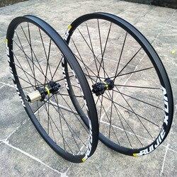 Ultraléger DTXT 26 27.5 29 pouces vtt montagne roue ensemble excentrique jante frein à disque vélo roue ensemble 4 roulement disque frein roue ensemble