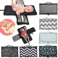 Waterproof Baby Changing Mat Portable Diaper Travel Table Changing Pad travel table Changing Station Kit Diaper Pad Baby Care