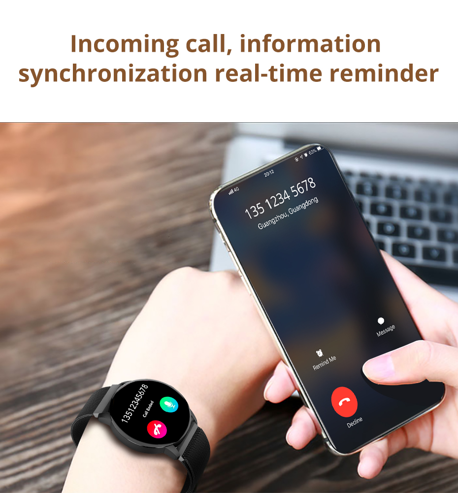 Makibes T5 PRO Advanced Milanese magnetic Fitness Tracker Smart Watch Blood Pressure Monitor Smartwatch Fashion PK Q8 Bracelet07
