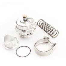 Высокое качество стиль 50 мм выдувной клапан универсальный регулируемый турбо CNC BOV аутентичный с v-полосным фланцем с логотипом