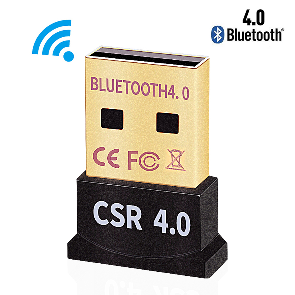 Wireless USB Bluetooth Adapter 4.0 Bluetooth Dongle Music Sound Receiver Adaptador Transmitter For Computer PC Speaker Laptop