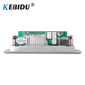 Image 2 - Kebidu 5 12 V Bluetooth5.0 MP3 Decoder Board Module Wireless MP3 Player LED Car Accessories Support TF Card Slot USB FM + Remote