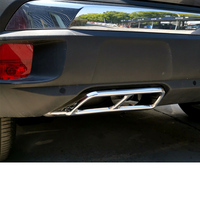 Lsrtw2017 Stainless Steel Car Alltrack Exhaust Pipe Frame for Peugeot 3008 Accessories