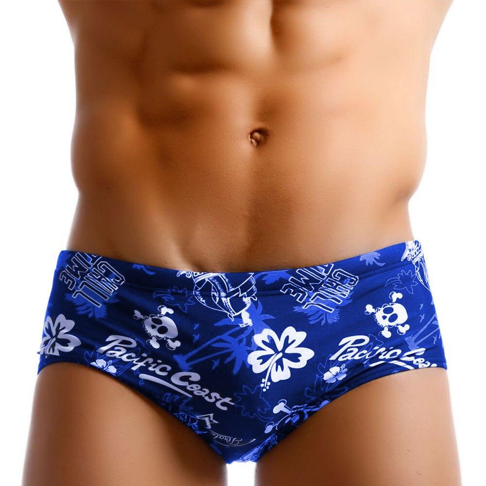 2020 New Swimwear Low-Waist Bathing-Pants Man Sexy Surf Swim-Briefs Male Beachwear Push-up Swimming-pool Water Park swim briefs