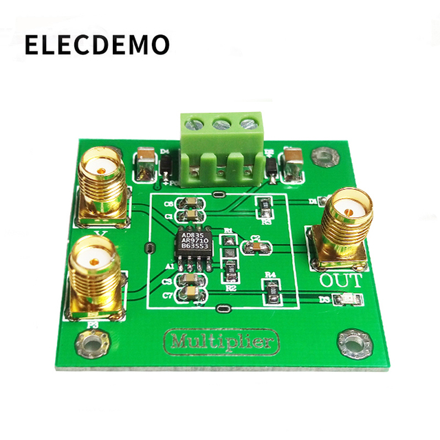 AD835 Analog Multiplier Module Signal Conditioning Phase Detection Four Quadrant Multiplier Frequency multiplier Active mixer