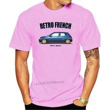 T-shirt RENAULT CLIO WILLIAMS. RÉTRO FRANÇAIS. VOITURE CLASSIQUE. MODIFIÉ