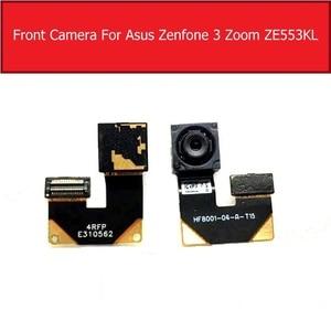 Image 2 - Caméra principale avant et arrière pour ASUS ZenFone 3 Zoom ZE553KL arrière grande petite caméra avec câble flexible pièces de rechange