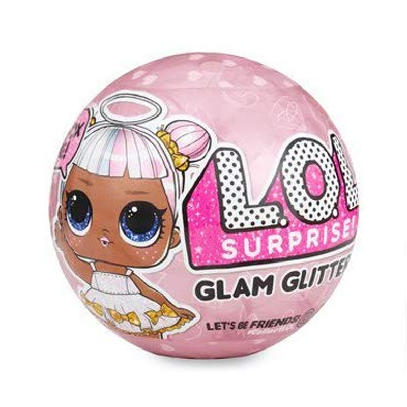 Original LOL Surprise Dolls Color Change Egg Confetti Pop Series Dress LOL Doll Ball Kids Toys For Children Christmas
