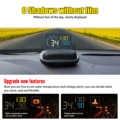 4,0 Автомобильный HUD Дисплей OBD II EUOBD компьютер Спидометр hud пленка автомобильная электроника перенапряжение напряжение сигнализации wiiyii C600 ...