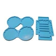 Coaster + suporte de resina epóxi molde conjunto copo esteira suporte silicone molde diy artesanato decorações fazendo ferramentas kit