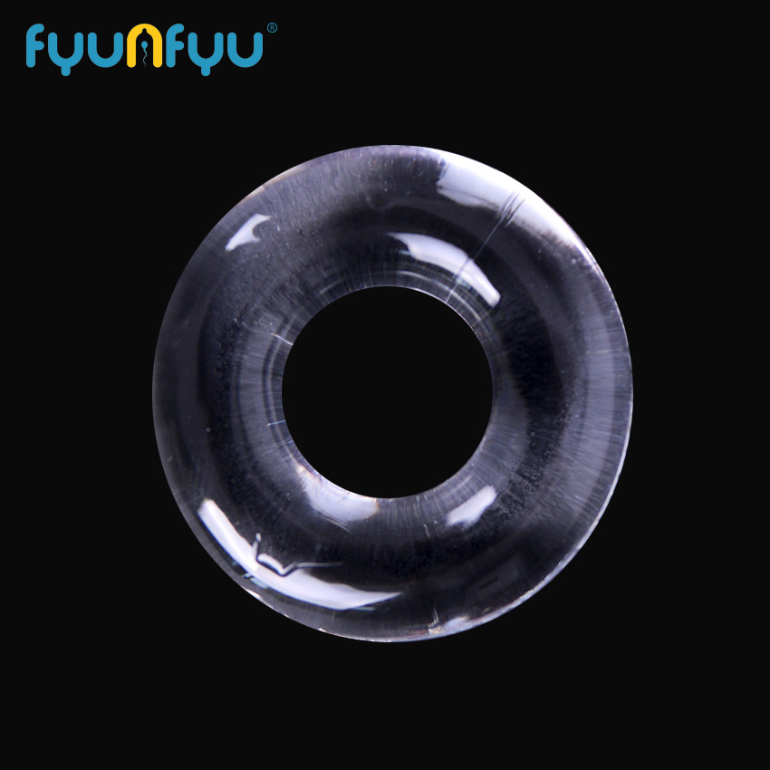 4PCS Silicone Cock Rings Delay Ejaculation Transparent Penis Rings Adult Sex Toys Sex Products For Men