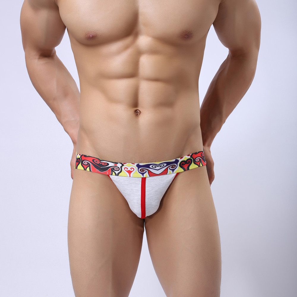 Men's Underwear Sexy Briefs G-strings Buttocks Jockstrap Thongs Underwear Bulge Pouch Breathable Briefs Gay Men Underwear Briefs