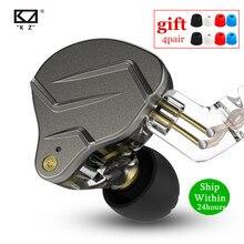 Newest KZ ZSN PRO 1BA+1DD Hybrid technology HIFI Metal In Ear Earphones Bass Earbud Sport Noise Cancelling Headset ZS10 PRO ZSX