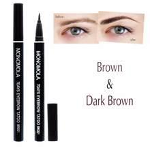Monocola 7 dias escuro/luz marrom sobrancelha caneta lápis sobrancelha olho sobrancelha tintura de tatuagem matiz caneta forro de longa duração olho cosméticos tslm1