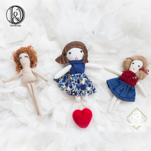 Don&Judy Cute Newborn Cloth Dolls Toy Studio Baby Photo Shoot Accessories Decoration for Photography Props Gifts