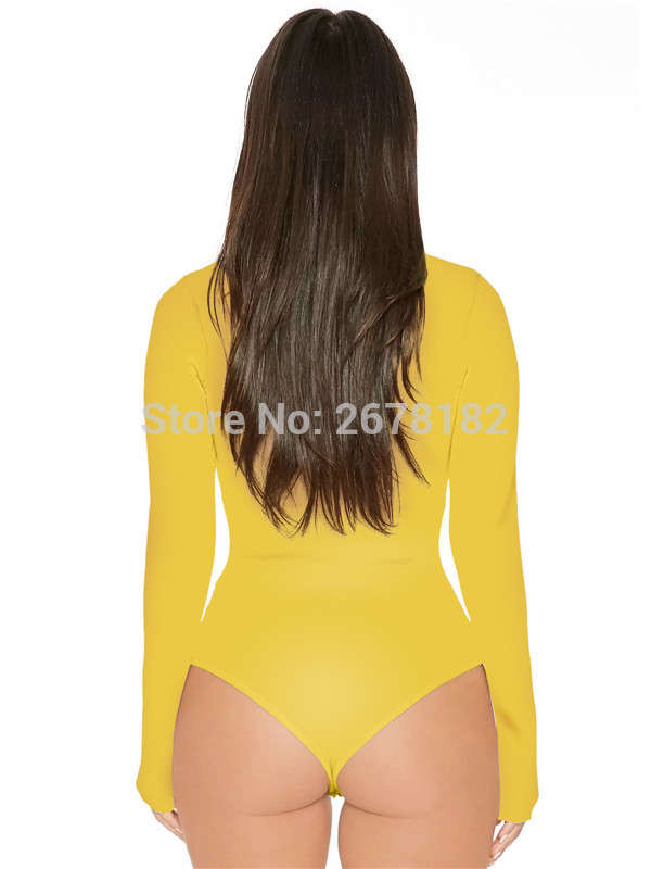 women sexy bodysuit611