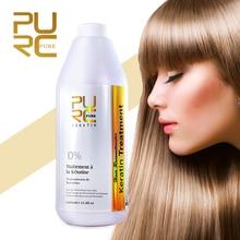 Hot Keratin Free Formaldehyde Hair Treatment Natural Keratin Protein in Hair Repair Straight Frizzy Hair Salon Product 0% 1000ml