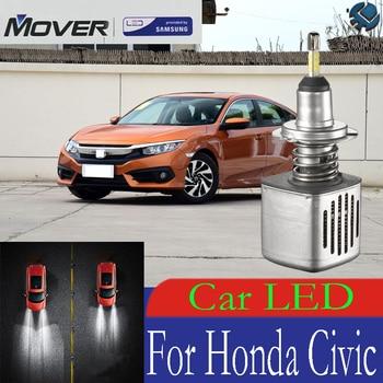 Car Headlight Bulbs LED Provided By SAMSUNG For Honda Civic LED Car 6500K White Light Auto Headlight  2X
