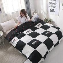 Venda cama 1 pçs capa de edredão/colcha capa/consolador capa cobertor caso tamanho 150*200/180*200/200*230/220*240