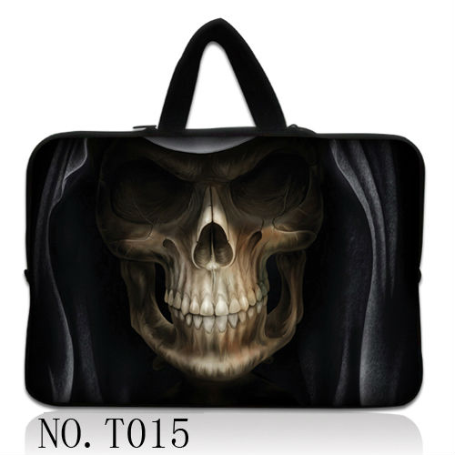 Soft Skull Laptop Sleeve Case For Notebook Computer 11.6