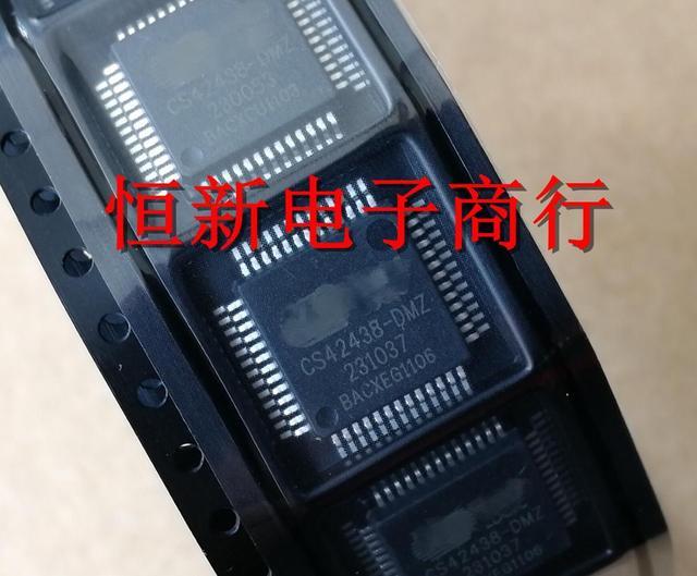 5 個〜 10 ピース/ロット CS42438 DMZ QFP52 新オリジナル