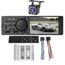 1Din 4 1 Cal samochodowego zestawu Stereo MP5 odtwarzacz Auto Radio FM Bluetooth 4 0 USB AUX RCA z Xiaomi Remote Radio samochodowe tylne widok kamery tanie tanio leefeeminye 50W*4 SWL7805 0 54kg W desce rozdzielczej PC+MT Tuner radiowy Angielski 87 5~108MHz 12 v 188mm*58mm*65mm 800*480