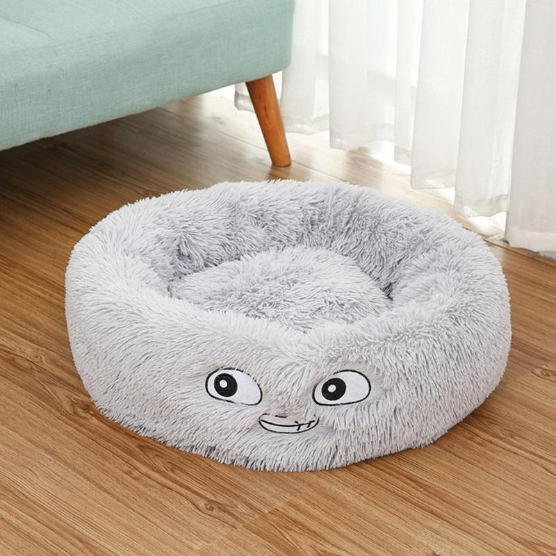 Lamb Velvet Plush Dog Cat Beds Soft Plush Pet Sofa Waterproof Bottom Nest Baskets Sleeping Cushion Household Supplies 14