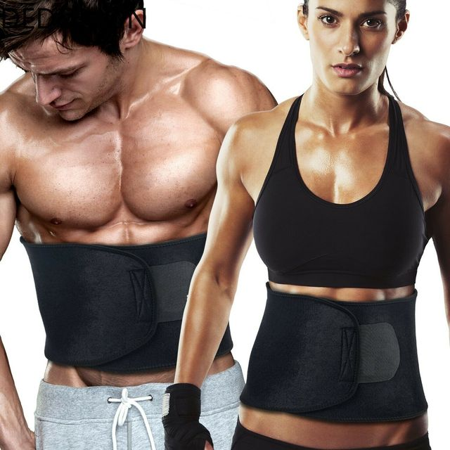 Neoprene Sauna Waist Trainer Slimming Belt Sweat Belt Shaper Fat Burn Shaperwear Adjustable Slimming Wraps Fajas Slimming Belt