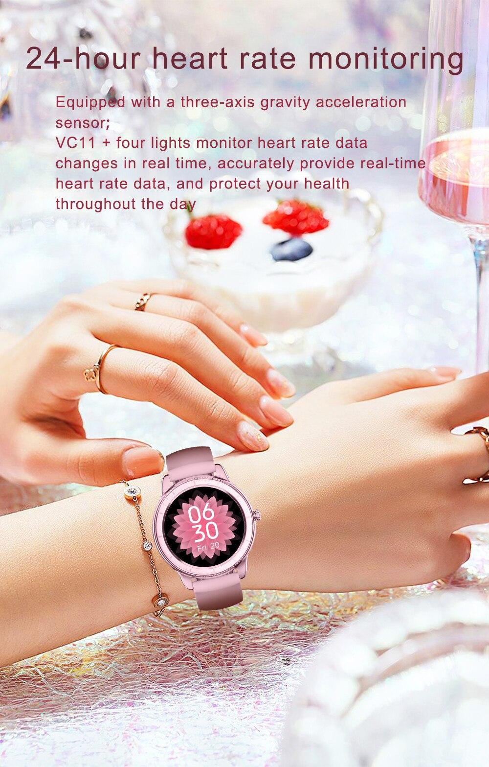 Rollstimi ip68 relógio inteligente bluetooth 2021 smartwatch