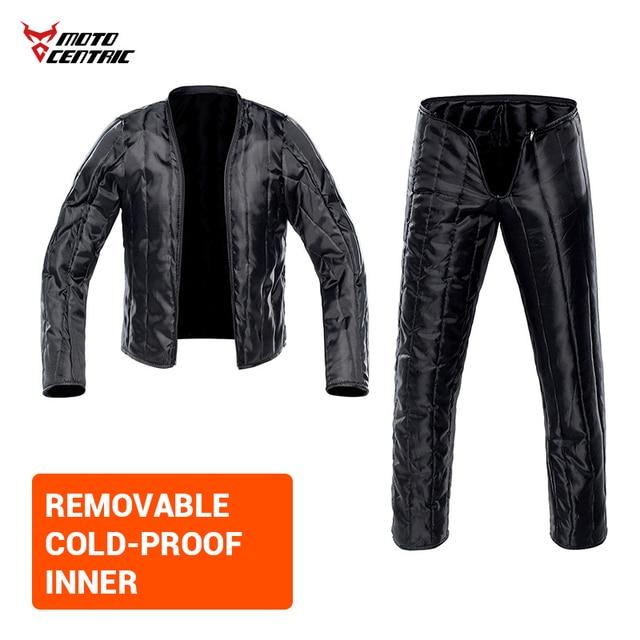 Waterproof Motorcycle Jacket Moto Jacket +Pants Riding Racing Motorbike Clothing Moto Suit for 4 Season 5