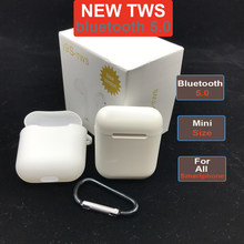 Tws Wireless Bluetooth 5.0 Earbuds not i12 i14 i20 i30 i60 tws Earphone with Mic Charging Box For Android iPhone PK i10 tws(China)