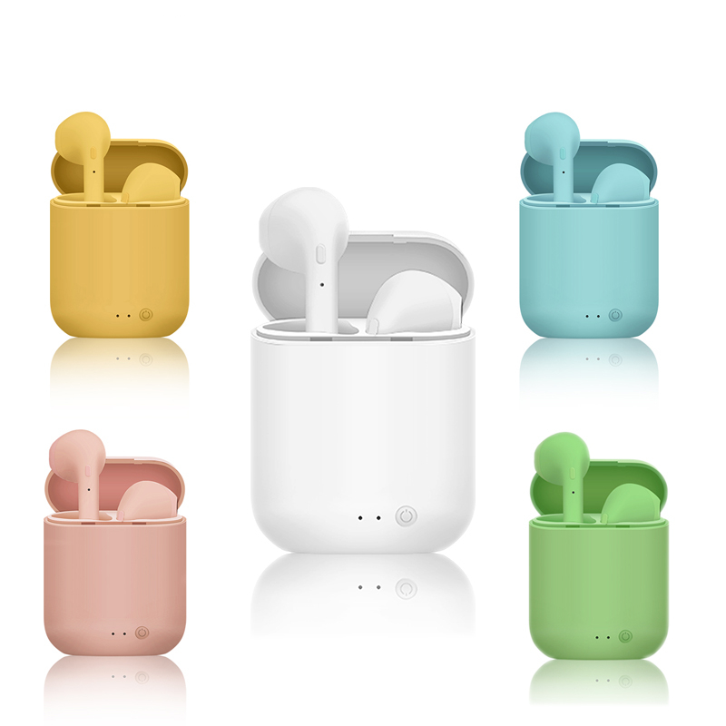 Mini 2 Tws Wireless Earphones Sports Earbuds Headset Bluetooth 5 0 Headphones With Mic Charging Box For Iphone Xiaomi Pk I9s I7s Bluetooth Earphones Headphones Aliexpress