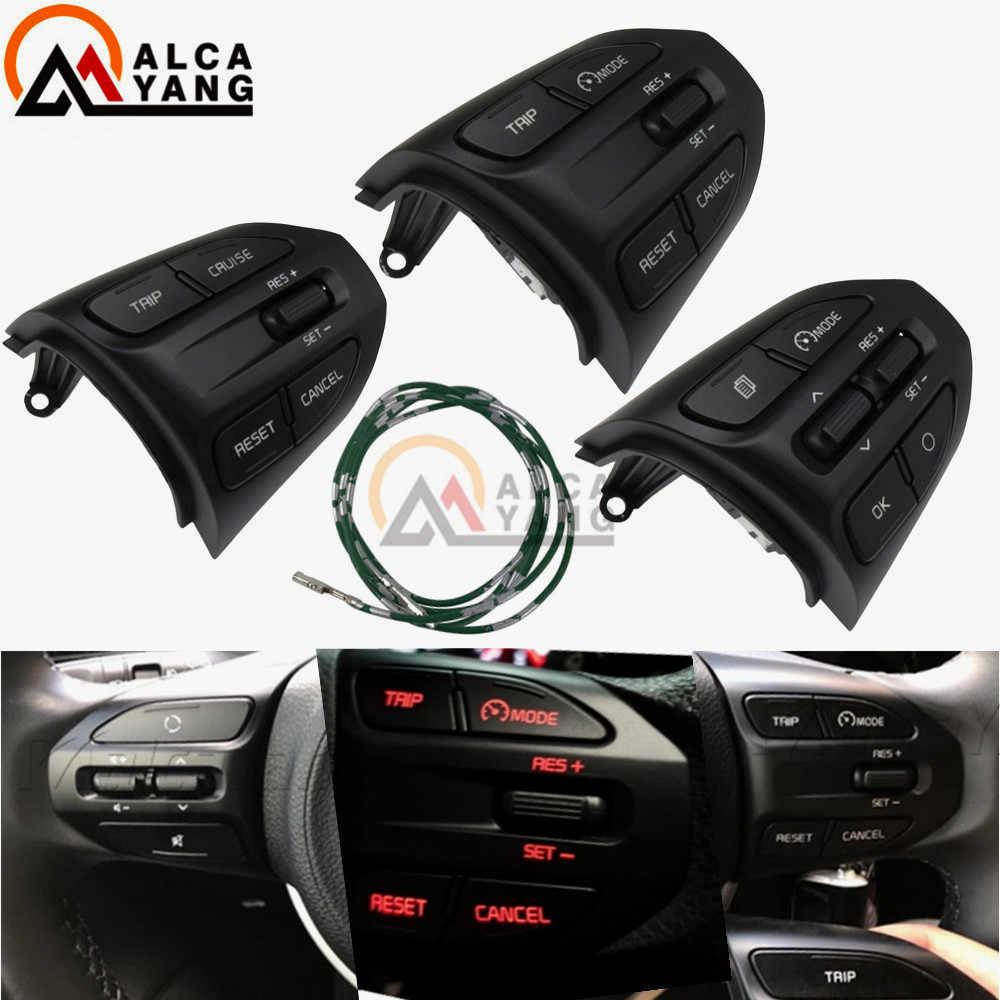 Steering Wheel Button For Kia K2 Rio 2017 2018 Rio X Line Buttons