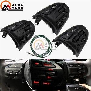 Steering Wheel Button For KIA K2 RIO 2017 2018 2019 RIO X LINE Buttons Bluetooth Phone Cruise Control Volume .(China)