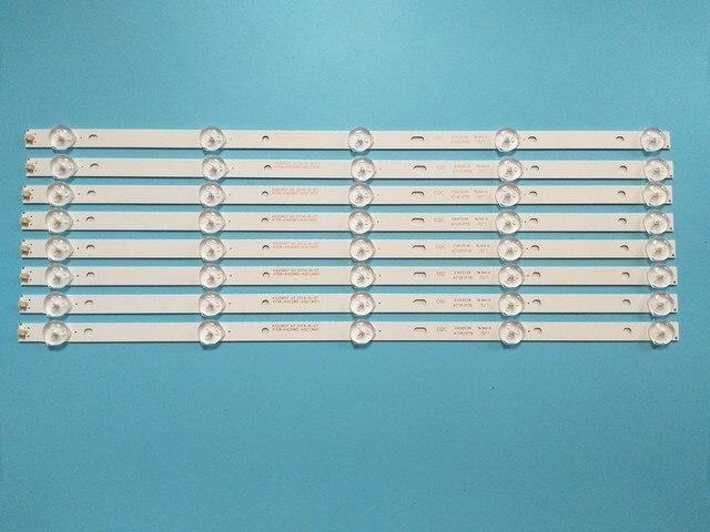 Nieuwe 8 Stks/partij 5LED(3V) 415Mm Led Backlight Strip Voor 43PFF5459 42PUF6052 K420WD7 4708 K420WD A3213K01 K420WDB TH 43C500C