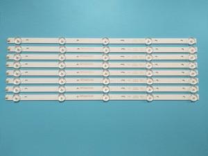 Image 1 - Nuovo 8 Pz/lotto 5LED(3V) 415 millimetri striscia di Retroilluminazione A LED per 43PFF5459 42PUF6052 K420WD7 4708 K420WD A3213K01 K420WDB TH 43C500C