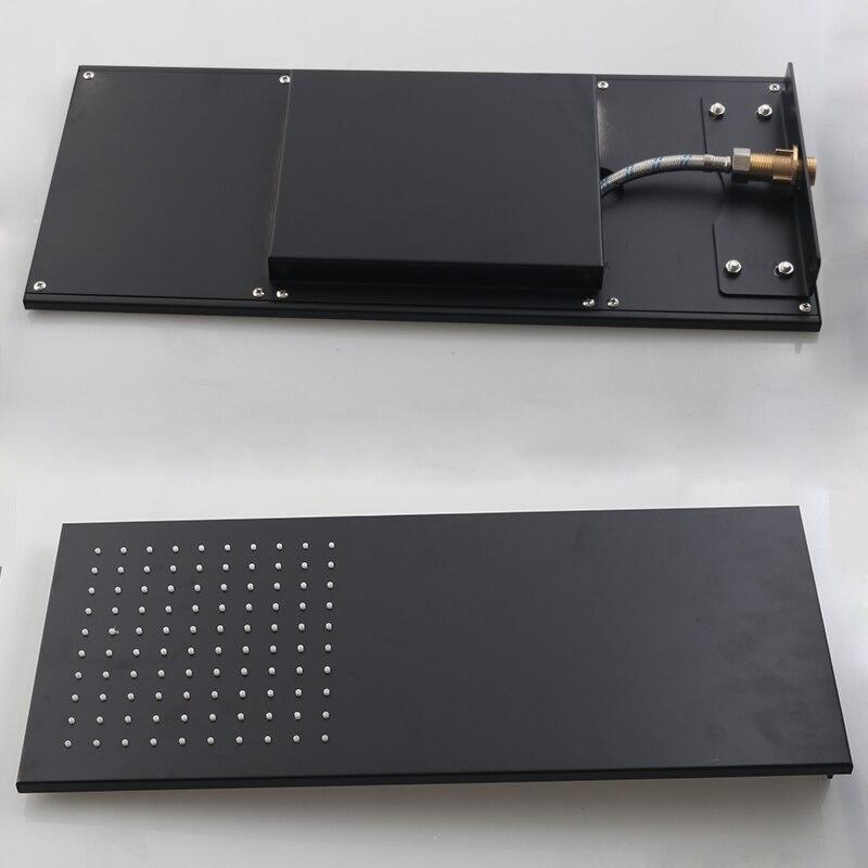 BAKALA Bad FÜHRTE Dusche Set Zwei Funktionen LED Digital Display Dusche Mixer. Verborgen Dusche Wasserhahn Regen Dusche Kopf